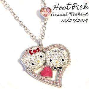 🎉HP: 💎Swarovski Hello Kitty Valentines Pendant